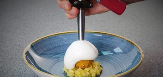 Crispy Pork Cheeks Croquette Recipe by Chef Igor Cikarev at The Gibson Hotel