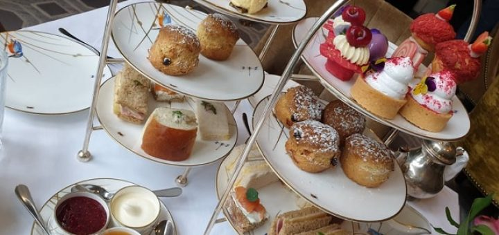 InterContinental Dublin Afternoon Tea Review 1