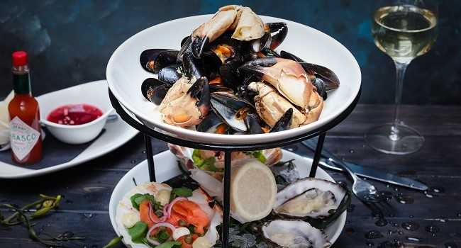Rope Mussels With White Wine cream From Sole Restaurant