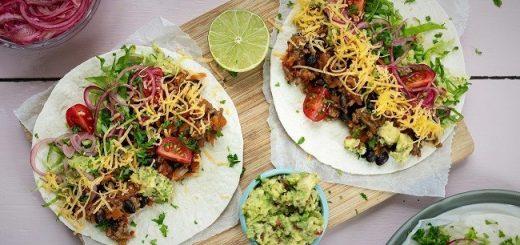 Back to School Dinner Burritos Recipe From Siúcra x Catherine Fulvio