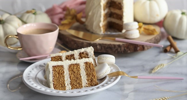Pumpkin Spice Latte Cake Recipe By Cupcakes and Counting