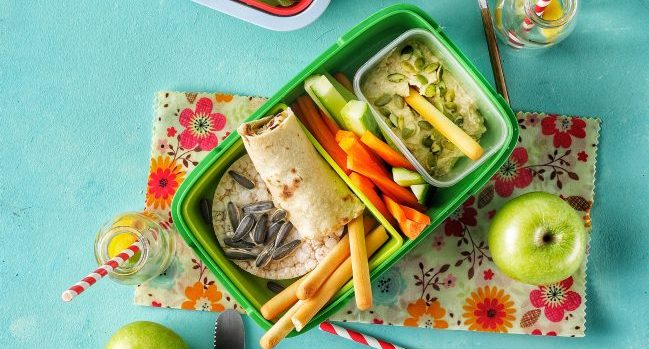 Back To School Energising Lunch Ideas