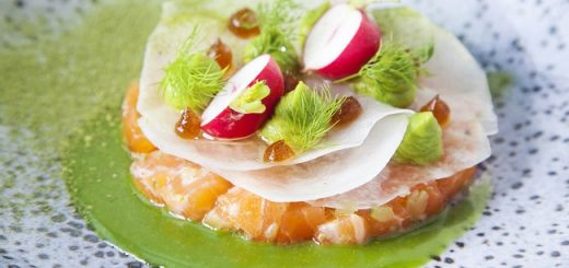 Vodka Cured Atlantic Salmon Recipe By Chef Igor From The Gibson