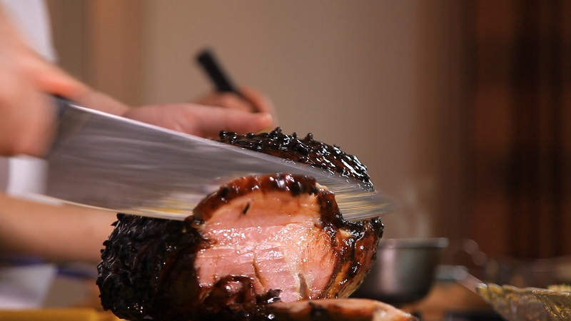 Honey Mustard and Treacle Glazed Ham Recipe By Chef Chad Byrne of The Brehon