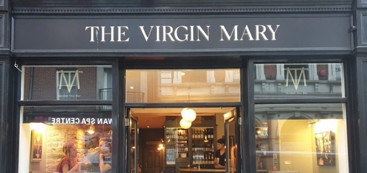 The Virgin Mary bar review 2020