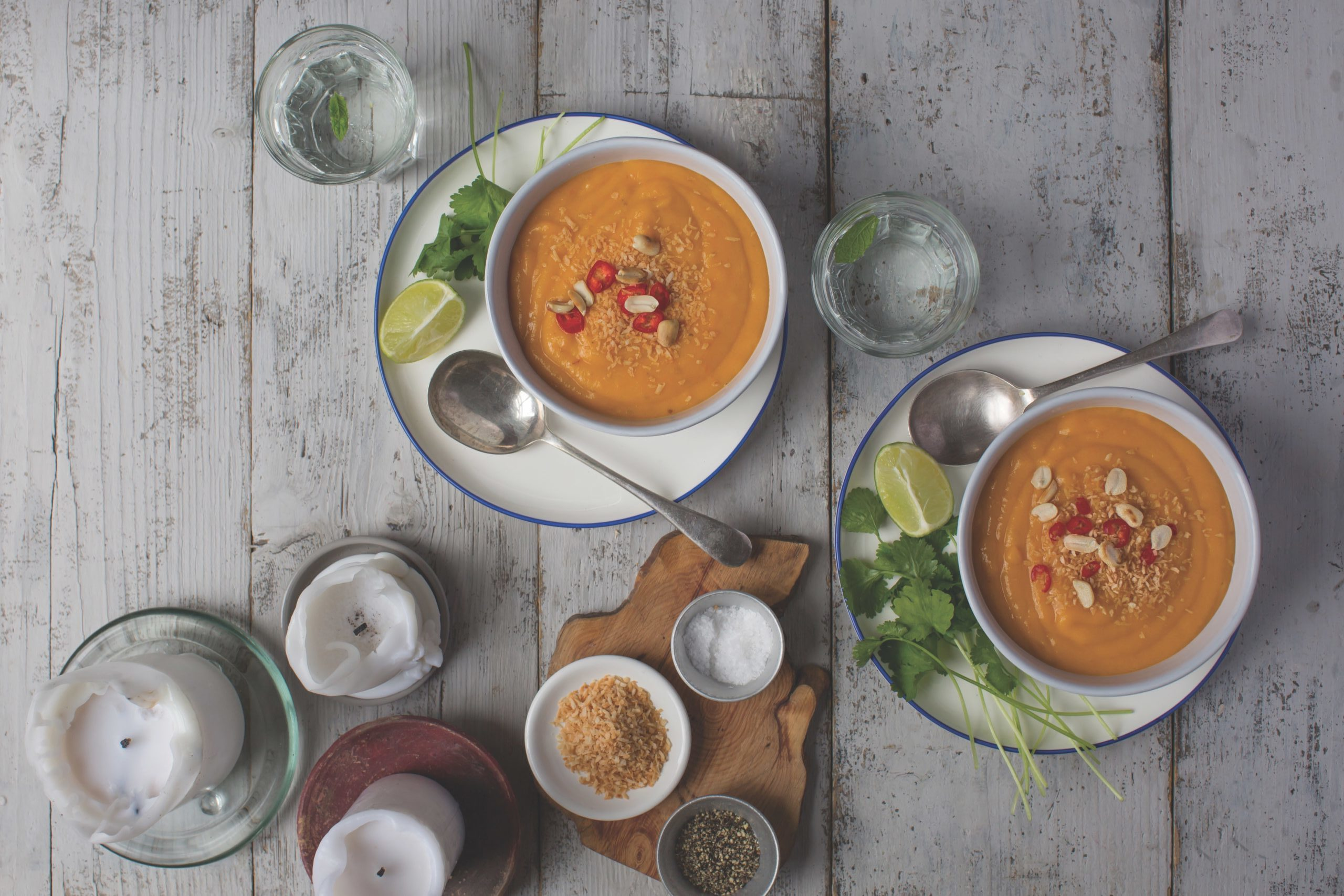 Carrot, Coriander and Coconut Soup Recipe by Finn Ni Fhaolain