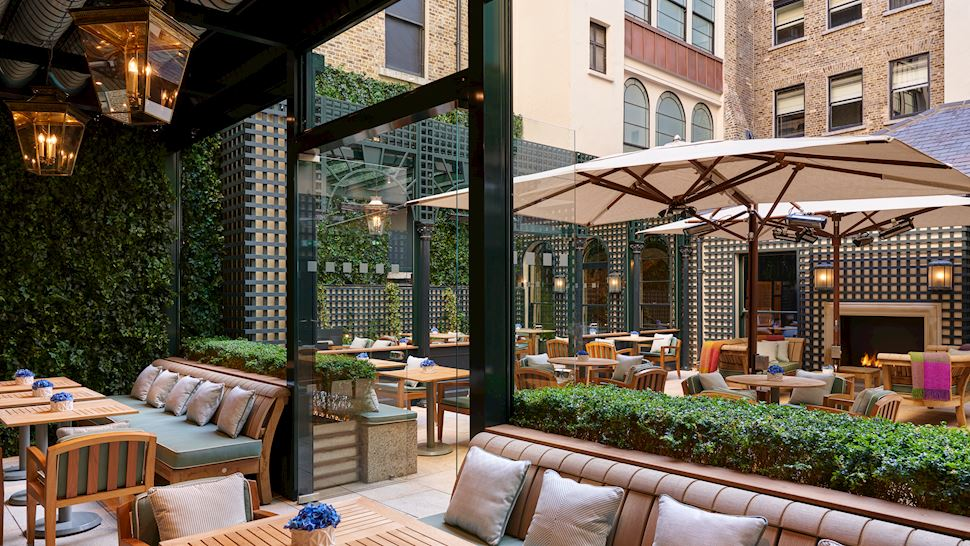 terrace at the Shelbourne