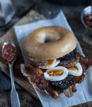 Breakfast Bagel Recipe From Ballymaloe Foods