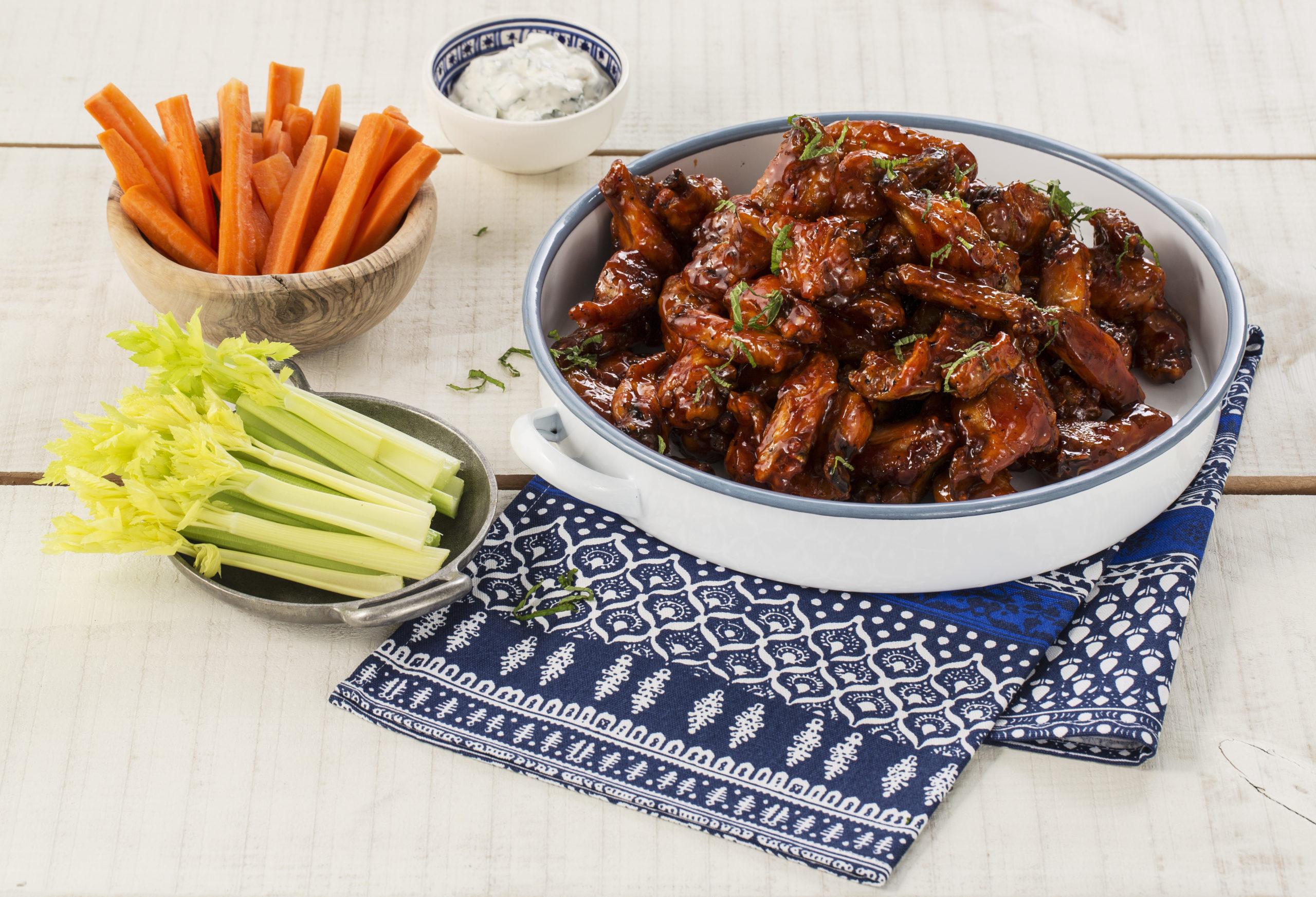 AVOCA's Korean Style Baked Chicken Wings Recipe