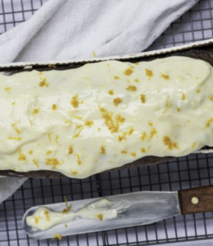 Carrot Cake with Orange Blossom Icing Recipe from Kerrygold