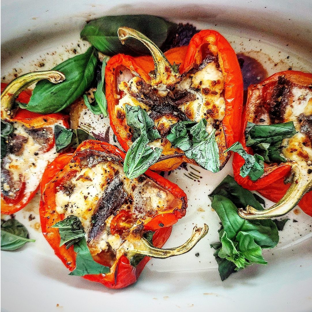 Summer Antipasto Peppers Recipe by Kate O'Driscoll